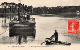 SAINT-MAMMES - Les Remorqueurs Sur La Seine, Animée - Saint Mammes