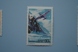 6-385 AAT Antarctic Plane Aviation Exploration South Pole Sud TAAF Ellsworth 's Northtrop  Gamma 1935 - Polar Flights