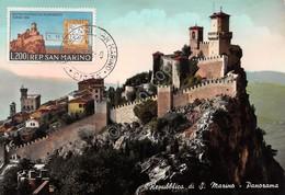 Cartolina Repubblica Di San Marino Panorama - San Marino