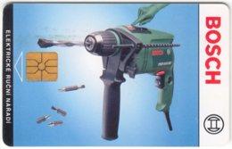 CZECH REP. C-685 Chip Telecom - Advertising, Tools, Bosch - Used - Tschechische Rep.