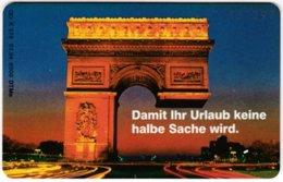 GERMANY K-Serie A-822 - 378 07.94 - Landmark, Arc De Triomphe - Used - Allemagne