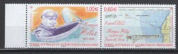 T.A.A.F. 2012 N° Y&T 639/40 **, MNH, Fraîcheur Postale. Cote Y&T 2017 : 6,40 € - Terres Australes Et Antarctiques Françaises (TAAF)