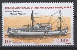 T.A.A.F. 2012 N° Y&T 604 **, MNH, Fraîcheur Postale. Cote Y&T 2017 : 2,40 € - Terres Australes Et Antarctiques Françaises (TAAF)