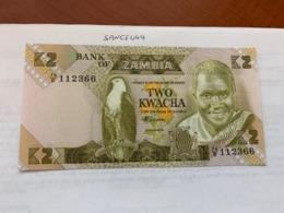 Zambia 2 Kwacha Unc. Banknote 1988 - Zambia