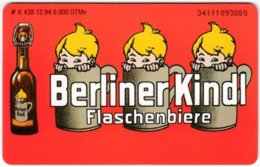 GERMANY K-Serie A-870 - 438 12.94 - Advertising, Drink, Beer - MINT - Deutschland