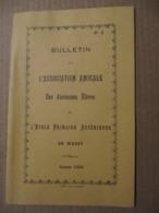 LIVRET - WASSY - BULLETIN DE L'ASSOCIATION AMICALE DES ANCIENNES ELEVES - 1924 - Vieux Papiers
