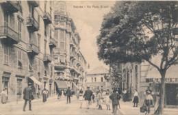 Z.491.  SAVONA - Piazza Giulio II - 1917 - Tram! - Savona