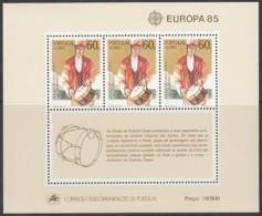 AZOREN Block 6, Postfrisch **, Europa CEPT:  Musik 1985 - Europa-CEPT
