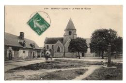 45 LOIRET - SENNELY La Place De L'Eglise (voir Descriptif) - Sully Sur Loire