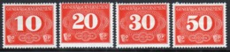 Poland German Occupation 1940 Set Of Official Delivery Stamps. - General Government