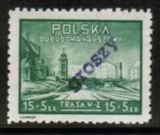 PL 1950 MI 605 GROSZY - Unused Stamps