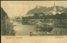 Y755 GRUSS AUS LAIBACH , JAKOBSDAMM  ( RETRO INDIVISO 1900) - Slovenia