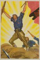 España. Guerra Civil. Postal Nacional. (*). (1936ca). Tarjeta Postal Ilustrada FALANGE, De La Colección Artífices De La - 1931-Aujourd'hui: II. République - ....Juan Carlos I