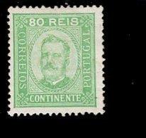 Por.73 B König Luis I MLH * Mint - Unused Stamps