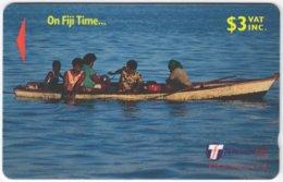 FIJI A-141 Magnetic Telecom - People, Streetlife - 29FJB - Used - Figi