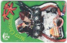 FIJI A-154 Magnetic Telecom - Occasion, Christmas - BCFJA - Used - Figi