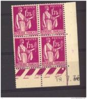 05771  -   France  -  Coinn Daté  :  Yv  289  **  19-7-35 - Coins Datés