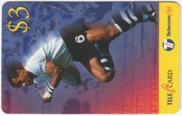 FIJI A-163 Prepaid Telecom - Sport, Rugby - Used - Figi