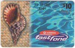 FIJI A-176 Prepaid Fastfone - Animal, Sea Life, Shell - Used - Figi