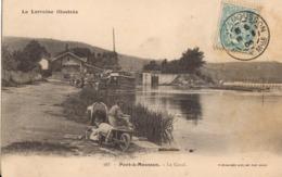 Pont à Mousson - Le Canal - Pont A Mousson