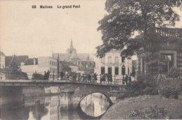 MECHELEN / DE GROTE BRUG / ANIMATIE - Mechelen