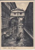 VENEZIA ; VENEDIG - Ponte Dei Sospiri,   Viaggiata  1937 - Venezia (Venice)