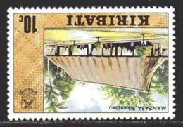 Kiribati 1979 Definitives 10c Value, Wmk. Sideways Inverted, MNH, SG 90w (BP2) - Kiribati (1979-...)