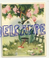 Mignonnette Double. Bébé, Landau, Oratoire. Marguerite Silvestre Tromme  Baptême 1951 à Esneux. Coloprint 10994/12 - Nascite