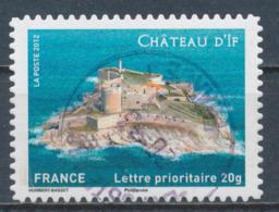 France - Châteaux Et Demeures (If) YT A722 Obl. Cachet Rond Manuel - Francia