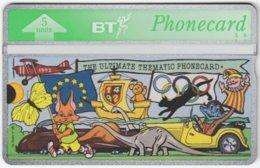 GREAT BRITAIN E-505 Hologram BT - Cartoon - 246A - MINT - Royaume-Uni