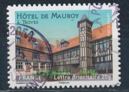 France - Châteaux Et Demeures (Troyes) YT A723 Obl. Cachet Rond Manuel - Francia