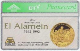 GREAT BRITAIN E-509 Hologram BT - Anniversary, 2nd World War, El Alamein - 232C - MINT - Royaume-Uni