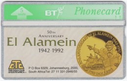 GREAT BRITAIN E-510 Hologram BT - Anniversary, 2nd World War, El Alamein - 271E - MINT - Royaume-Uni