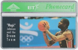 GREAT BRITAIN E-511 Hologram BT - Sport, Basketball, Earvin Johnson Jr. - 231E - MINT - Royaume-Uni