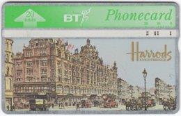 GREAT BRITAIN E-520 Hologram BT - Shopping Mall, Harrods - 622C - Used - Royaume-Uni