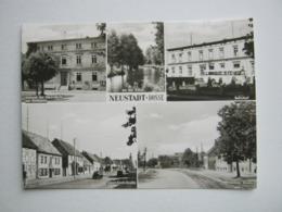 Neustadt (Dosse) , Bahnhof , Seltene Karte - Neustadt (Dosse)