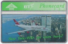 GREAT BRITAIN E-539 Hologram BT - Traffic, Airplane - 550K - Used - Royaume-Uni