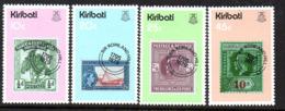 Kiribati 1979 Rowland Hill Death Centenary Set Of 4, MNH, SG 100/3 (BP2) - Kiribati (1979-...)