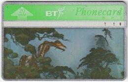 GREAT BRITAIN E-575 Hologram BT - Cartoon, Fantasy - 569A - Used - Royaume-Uni
