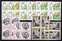 Saint-Marin Europa YT N° 1133/1134 Et 1148/1148 X Huit Timbres De Chaque Neufs ** MNH. TB. A Saisir! - San Marino