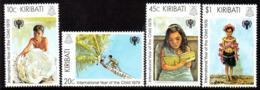 Kiribati 1979 International Year Of The Child Set Of 4, MNH, SG 105/8 (BP2) - Kiribati (1979-...)