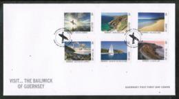 CEPT 2012 GG MI 1374-79 GUERNSEY FDC - Europa-CEPT