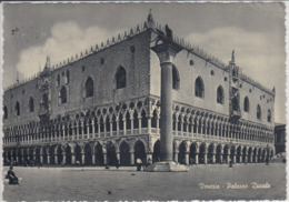 VENEZIA ; VENEDIG - Palazzo Ducale   Viaggiata  1956   RPPC - Venezia (Venice)