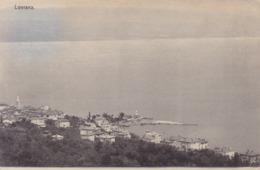 Lovran (Laurana) * Gesamtansicht * Kroatien * AK1962 - Croatie