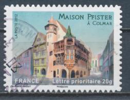 France - Châteaux Et Demeures (Colmar) YT A724 Obl. Cachet Rond Manuel - Francia