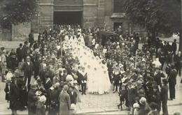 - Hauts De Seine -ref-A46- Sceaux - Carte Photo Communion Sollenelle 1927 - Communiants - Religions - - Sceaux