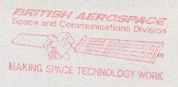 Meter Cover GB / UK 1987 British Aerospace - Space And Communications Division- Satellite - Astronomie