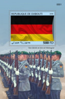 Djibouti 2018, German Army, BF - Francobolli