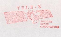 Meter Cover Sweden 1990 Tele-X - Swedish Space Corporation - Satellite - Astronomie