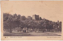 Haute Savoie : THONON-les-BAINS : Vue Vers Le Jardin Public - Thonon-les-Bains